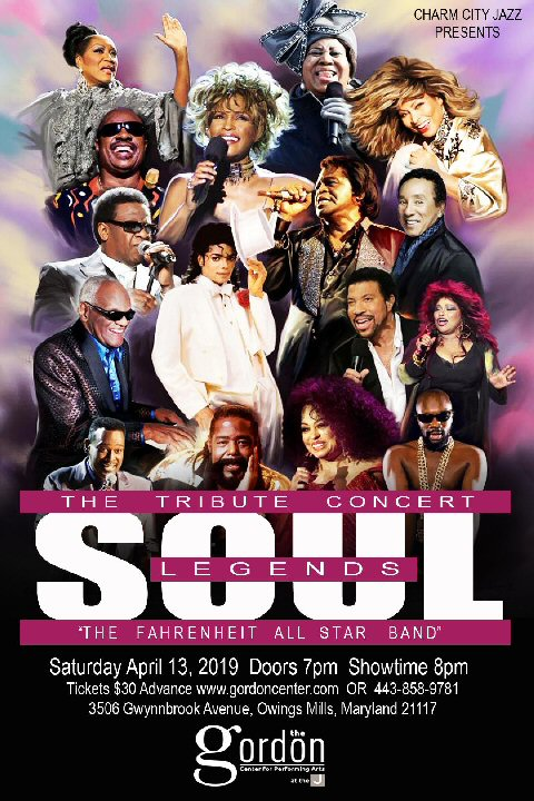 Soul Legends Concert – April 13, 2019